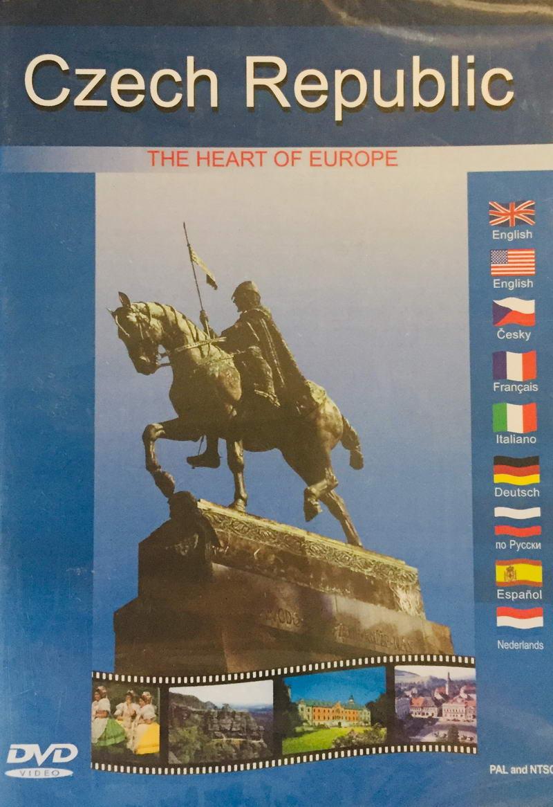 Czech Republic - The Heart of Europe - DVD /plast/