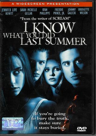 I Know What You Did Last Summer / Tajemství loňského léta ( originální znění, titulky CZ ) plast DVD