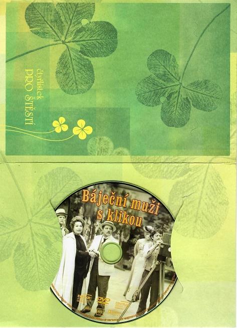 Báječní muži s klikou ( dárkový papír obal ) DVD
