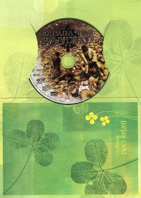 Balada pro banditu ( dárkový papír obal ) DVD