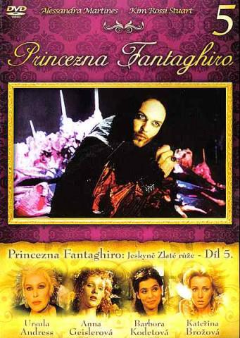 Princezna Fantaghiro: Jeskyně Zlaté růže - Díl 5 - DVD