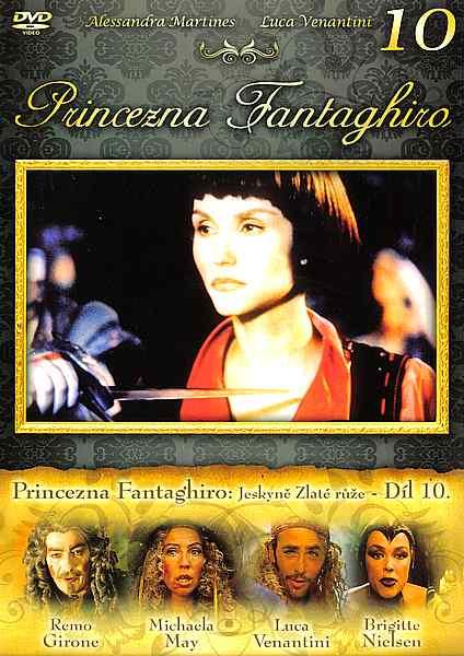 Princezna Fantaghiro: Jeskyně Zlaté růže - Díl 10 - DVD