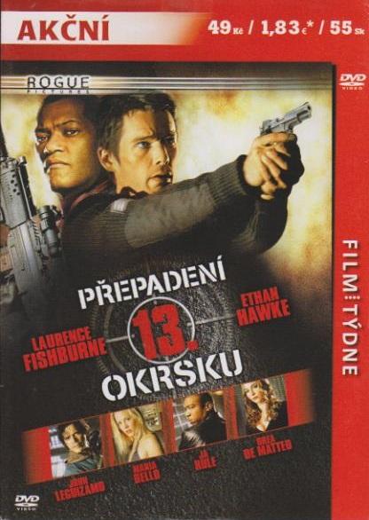 dbfe1df33 Přepadení 13. okrsku - DVD | Levné DVD filmy