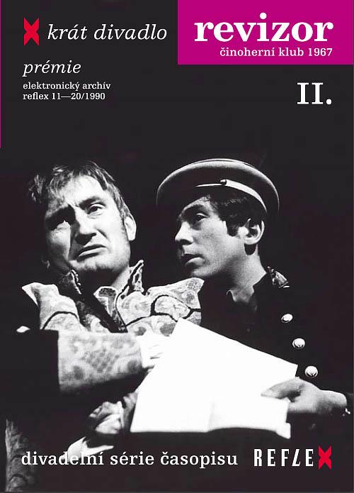 Revizor - X - krát divadlo (P. Landovský) - DVD
