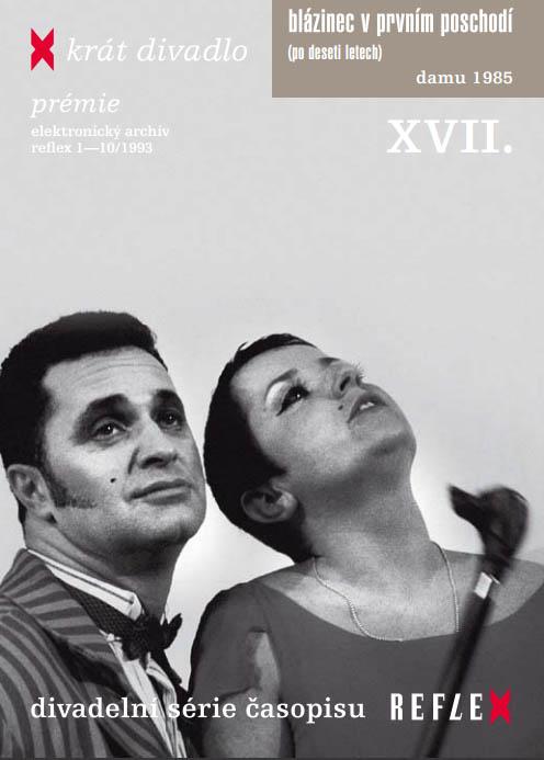 Blázinec v prvním poschodí - X - krát divadlo - DVD