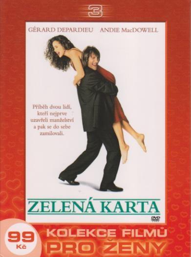 Zelená karta - DVD
