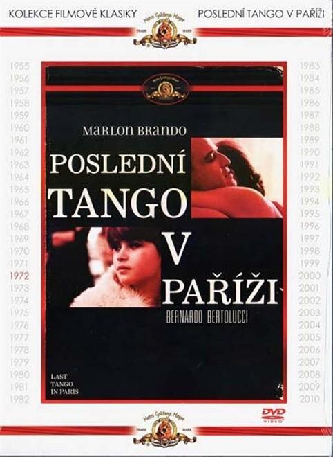 Poslední tango v Paříži - DVD