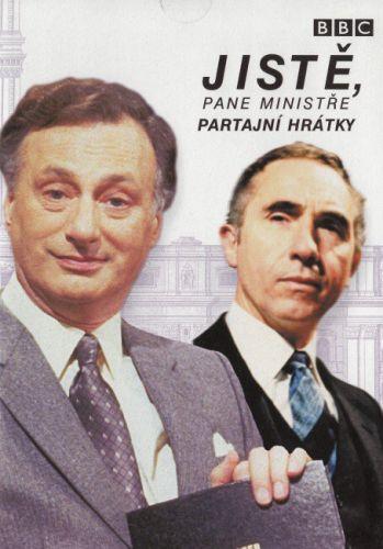 Jistě, pane ministře - Partajní hrátky - DVD