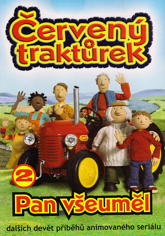 Červený traktůrek 2 - DVD