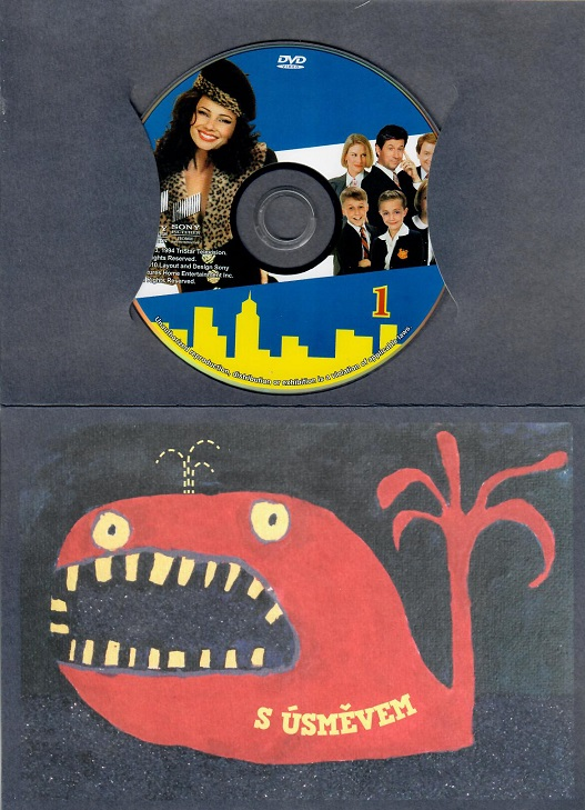 Chůva k pohledání 1 ( dárkový papír obal ) - DVD