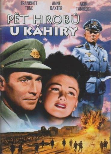 Pět hrobů u Káhiry - DVD