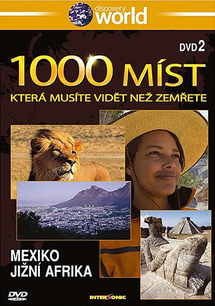 1000 míst která musíte vidět než zemřete 2 - Mexiko, Jižní Afrika - DVD