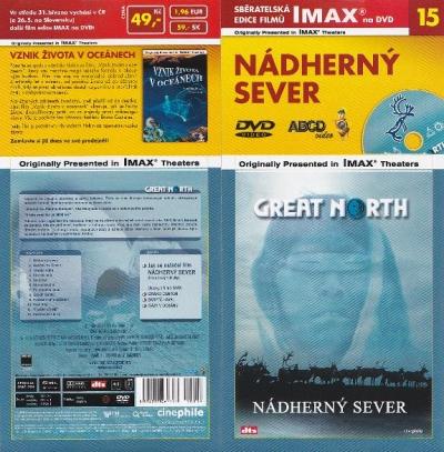 IMAX - 15 - Nádherný sever - DVD