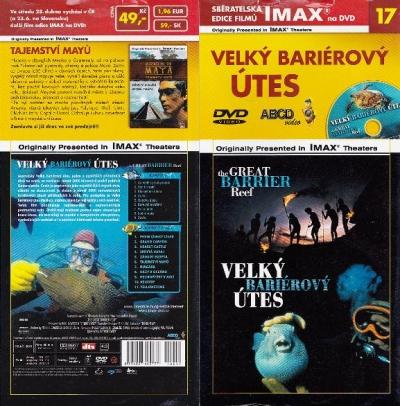 IMAX - 17 - Velký bariérový útes - DVD
