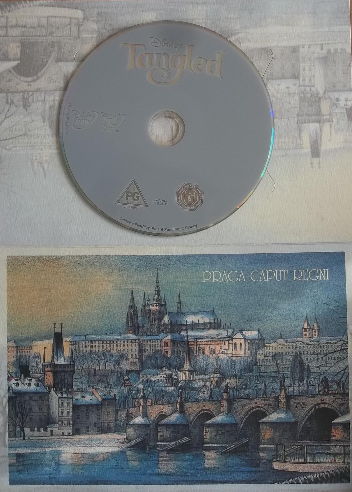 Na vlásku - dárková obálka - DVD