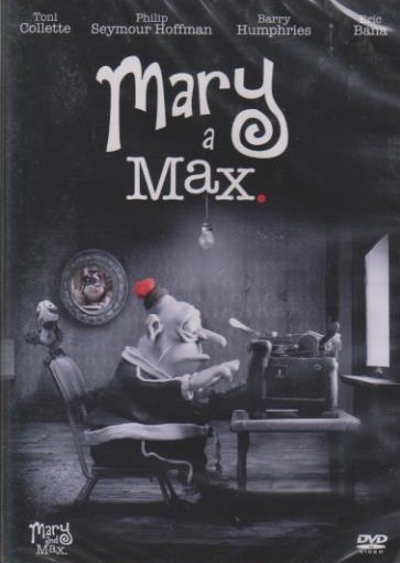 Mary a Max - DVD plast
