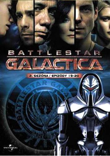 Battlestar Galactica - disk 16 - 2. sezóna, epizody 17-18 - DVD