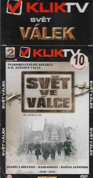 Svět ve válce 2 - KLIK TV - DVD
