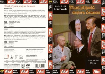 Třicet případů majora Zemana 11, 12 - DVD