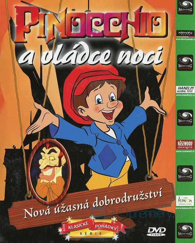 Pinocchio a vládce noci - DVD