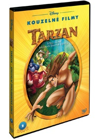 Tarzan S.E. 2DVD - Disney Kouzelné filmy č.2 - DVD