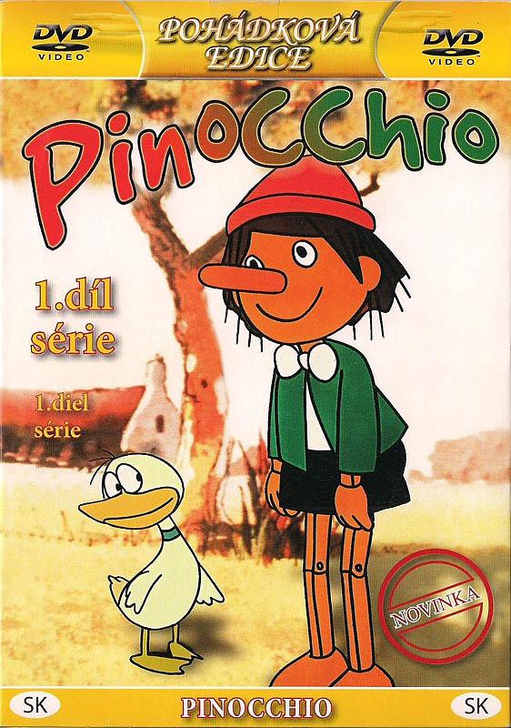 Pinocchio 1. díl série - DVD
