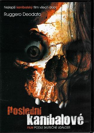 Poslední kanibalové ( plast ) DVD