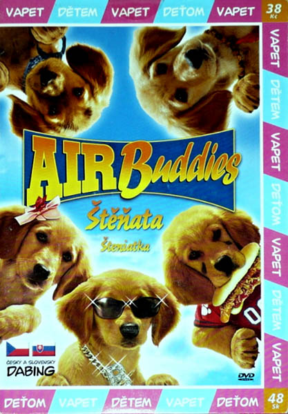 Air Buddies - Štěňata - DVD