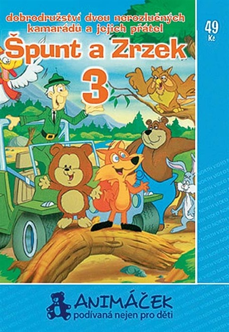 Špunt a Zrzek 03 - DVD