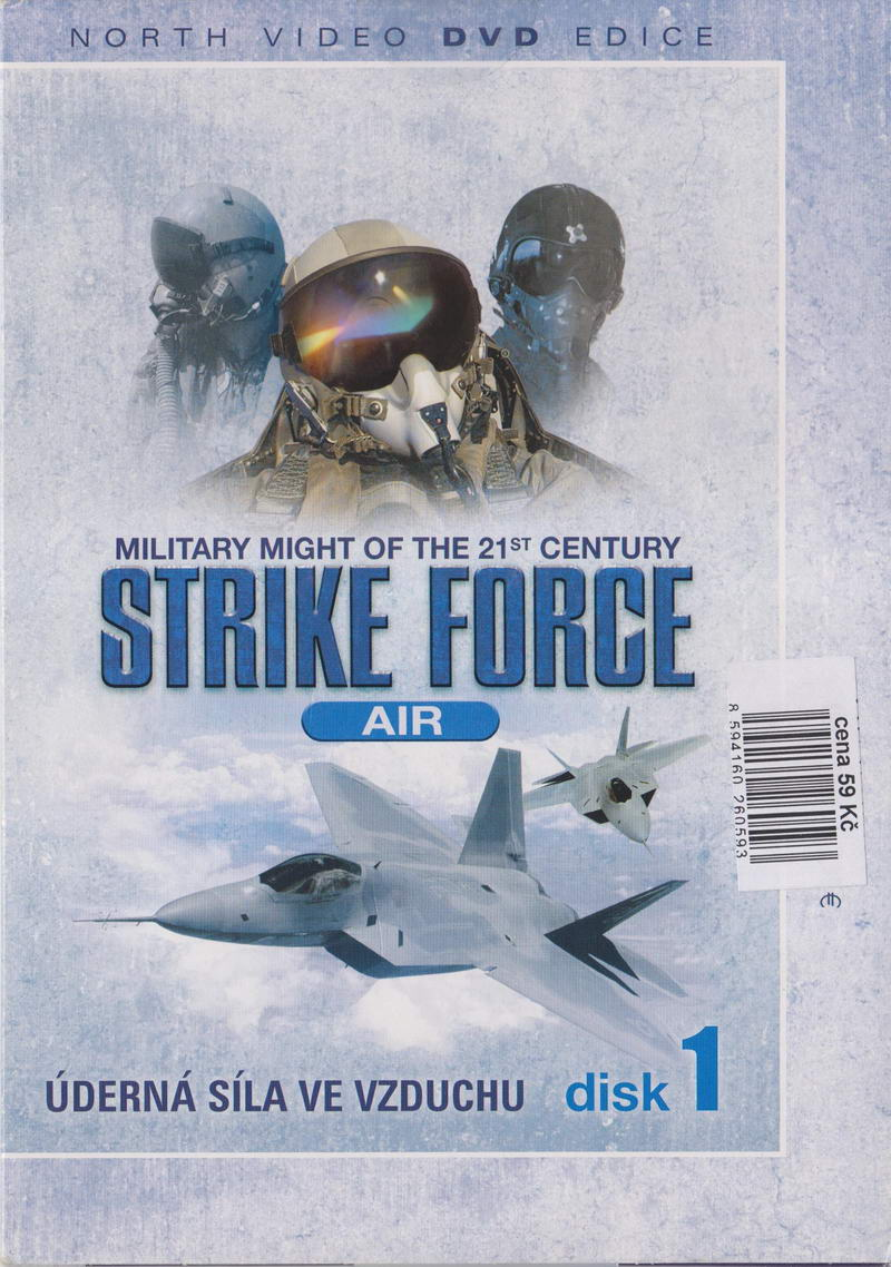 Úderná síla - Letectvo - disk 1 (Strike Force - Air) - DVD