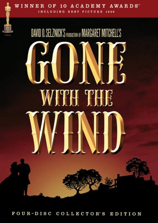 Gone with the Wind / Jih proti Severu - DVD