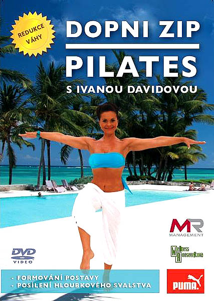 Dopni zip - Pilates s Ivanou Davidovou - DVD