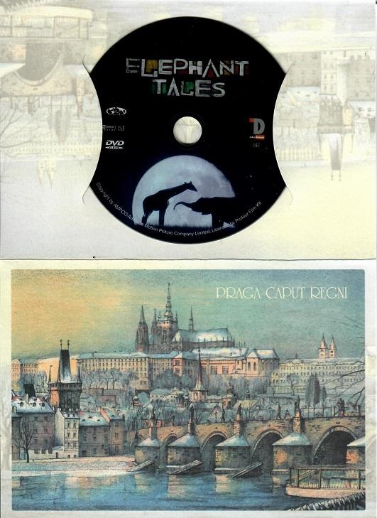 Sloní příběhy (dárkový papír obal praha ) - DVD