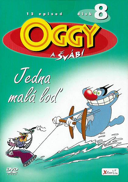 Oggy a švábi 8 - Jedna malá loď - DVD