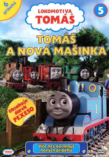 Lokomotiva Tomáš - Tomáš a nová mašinka - DVD