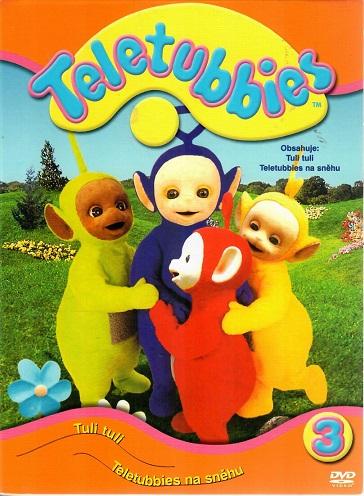 Teletubbies 3 - Tuli tuli, Teletubbies na sněhu ( digipack ) DVD