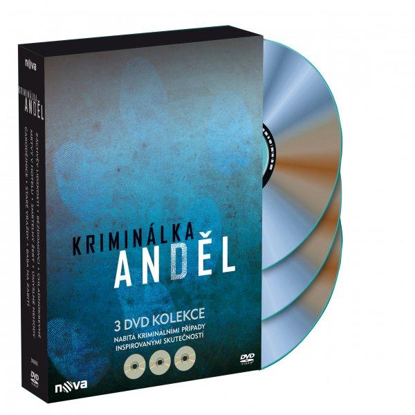 3 DVD Kriminálka Anděl DVD