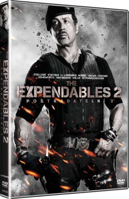 The Expendables 2 - Postradatelní 2 - DVD
