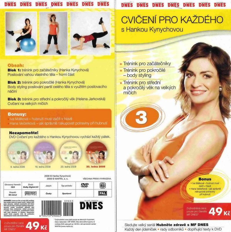 Cvičení pro každého s Hankou Kynychovou 3 - DVD