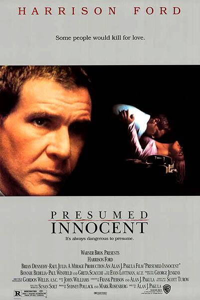 Presumed Innocent - Podezření - DVD plast