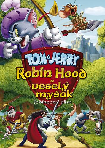 Tom a Jerry: Robin Hood a veselý myšák - DVD