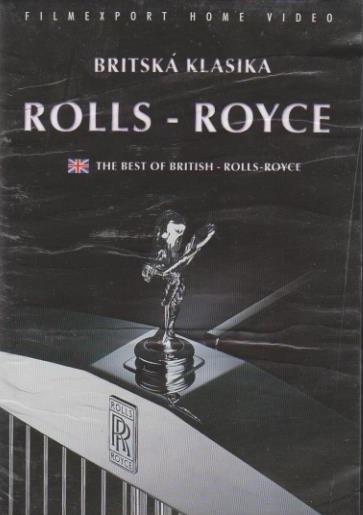 Britská klasika - Rolls-Royce dokument - DVD