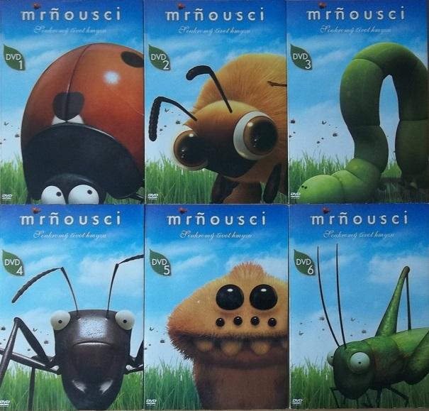 Kolekce Mrňousci - 6 DVD
