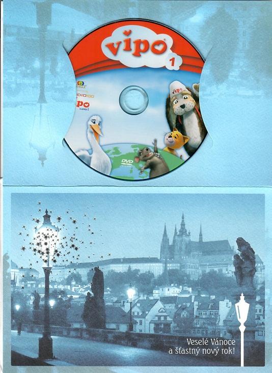 Vipo Létající pejsek 1 - Fontána splněných přání ( dárkový papír obal ) - DVD