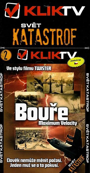 Bouře: Maximum Velocity ( pošetka ) DVD