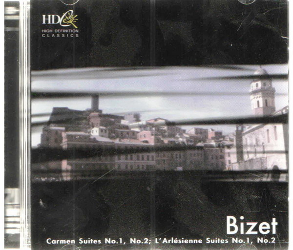 Bizet - Carmen Suites No. 1, No. 2, L´Arlésienne Suites no. 1, No. 2 - CD