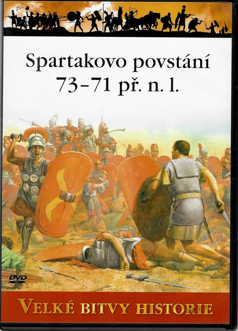 Velké bitvy historie - Spartakovo povstání 73 - 71 př. n. l.  - DVD slim