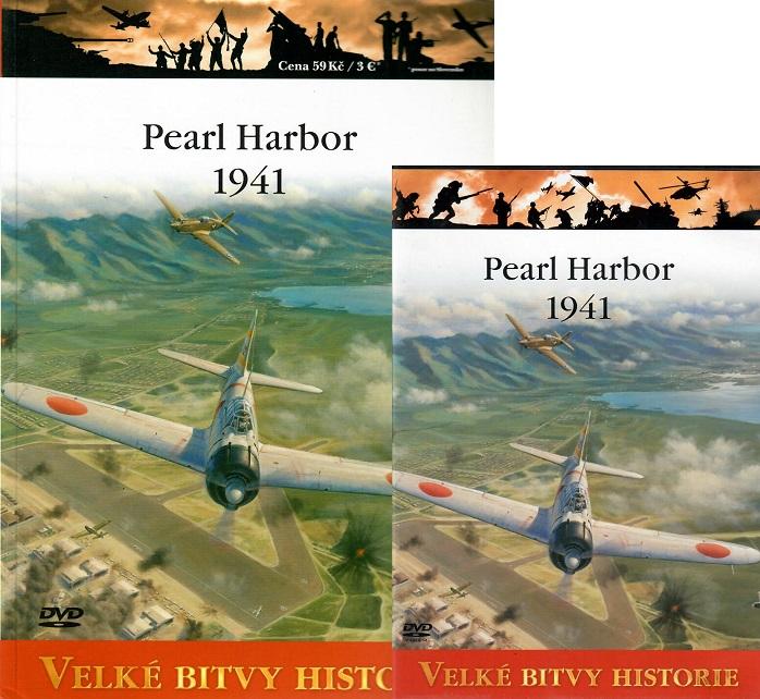 Velké bitvy historie 2 - Pearl Harbor 1941 ( Časopis + DVD )