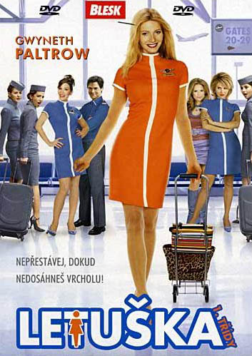 Letuška první třídy - DVD plast