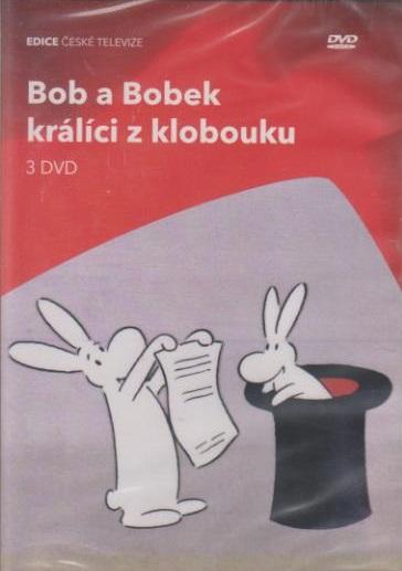 Bob a Bobek králíci z klobouku 3x DVD